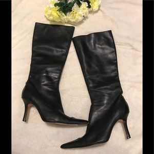 Charles David tall leather boots